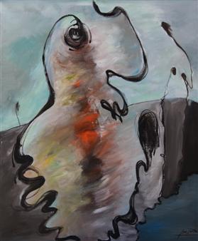 Jian Jun An - 12JAN Acrylic on Canvas, Paintings