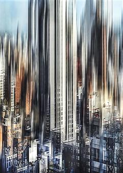 Shifra Levyathan - City Density 11 Digital C-Print, Photography