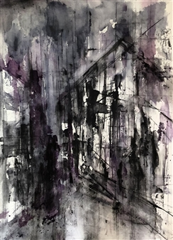 Dana Ingesson - Fear Nothing Watercolor on Paper, Paintings