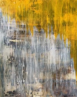 Alissa Van Atta - Veiled Layers Acrylic on Canvas, Paintings