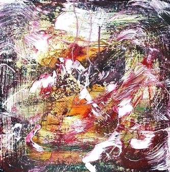 Makoto Oshima - No. 210525 Acrylic on Canvas, Paintings