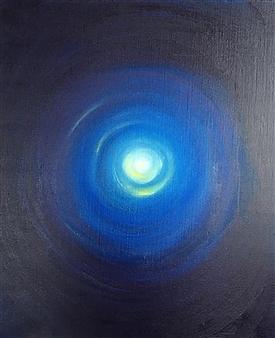 Barbara Wykrota - Focus 2 Acrylic on Canvas, Paintings