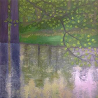 Maribel Matthews - Twilight Oil on Canvas, Paintings