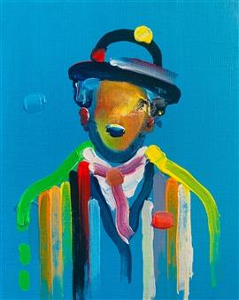 Kazusa Matsuyama - -Anonymous Portrait 10- Acrylic on Canvas, Paintings