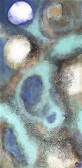 Mona Taqi - The Wave Acrylic on Canvas, Paintings