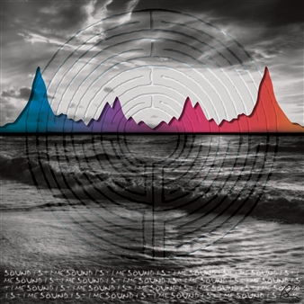 Anina E. Hathaway - Labyrinth–Sound Is Time Digital Print on Aluminum, Digital Art