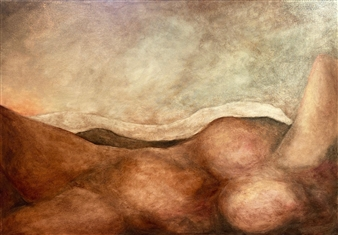 Marc Provisor - First Light Oil on Canvas, Paintings