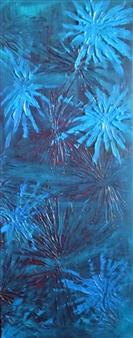 Carol Kavish - Blooming Acrylic on Canvas, Paintings