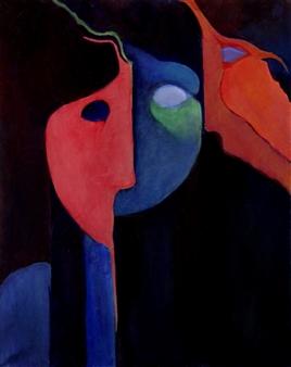 Greenberg - Opus 454 Oil on Canvas, Paintings