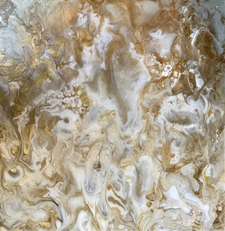 Deborah Helms - The Angel Within Acrylic & Resin on Wood, Mixed Media