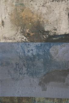 Israel Feldmann - Reflection 1 Pigment on Plywood, Paintings