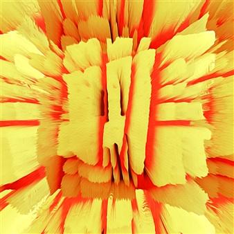 Alex Osborne - Pepper Cheese 3D Archival Digital Print on Panel, Digital Art