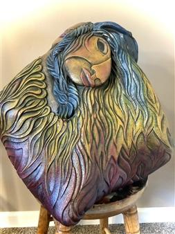 Nora Pineda - The Embrace Stoneware, Sculpture