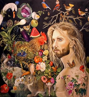 Rosana Largo Rodríguez - Living Nature Oil on Canvas, Paintings