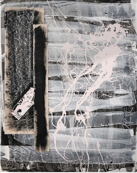 Merritt Spangler - Endings No. 21 Acrylic on Wood Panel, Paintings
