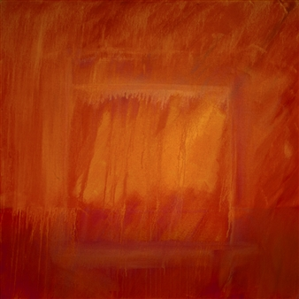George Oommen - Sacred Landscape Within You 31 Acrylic on Canvas, Paintings