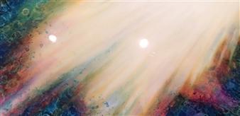 Tiffany Reid - Lumina Acrylic on Canvas, Paintings