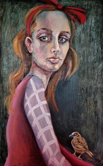Clara de Bobes - Volar Oil on Canvas, Paintings