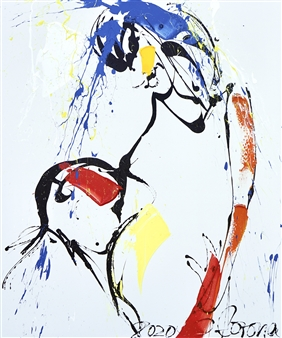 G Corona - Called Acrylic on Canvas, Paintings