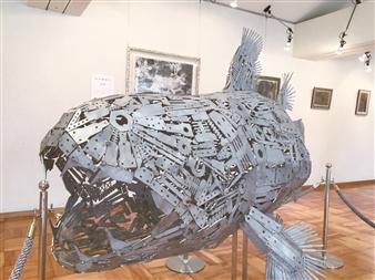 Yoshiki Uchida - Coelacanth Metal, Sculpture