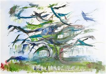 Christine Lückmann - Dreamtime Oil on Canvas, Paintings