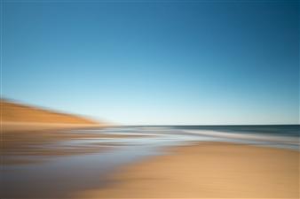 Gottfried Roemer - Cape Cod Nauset Light Beach Ebb Photograph on Aluminum, Photography