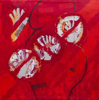 Doofan Kwaghhool - Stop 2 Acrylic on Canvas, Paintings