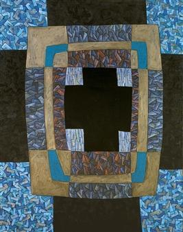 Alexander Ossipov (TOTUR) - The Cross Oil on Canvas, Paintings