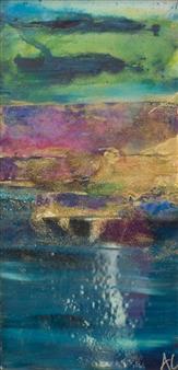 Abigail Custis - Infinite Expectation Acrylic on Canvas, Mixed Media