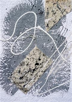 Merritt Spangler - Endings No. 9 Acrylic on Paper, Paintings