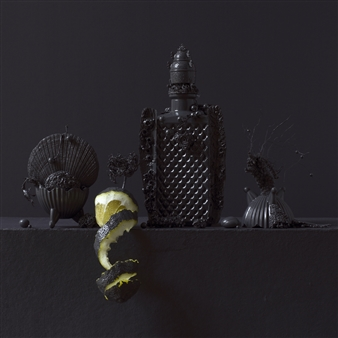 Art Golacki - Still Life in Grey with Lemon / second variation Archival Pigment Print, Photography