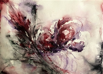 Dana Ingesson - Celebration of Life Watercolor on Paper, Paintings