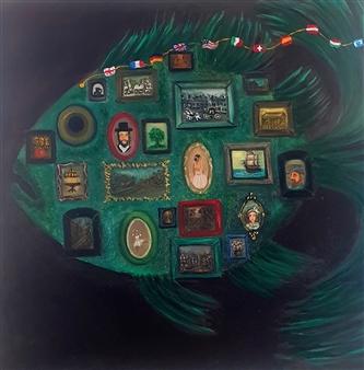 Salome Chelidze - Exhibition Oil on Canvas, Paintings