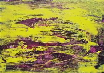 Makoto Oshima - No. 210217 Acrylic on Canvas, Paintings