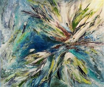 Alexandra Verbeek - Wildlife Oil on Canvas, Paintings