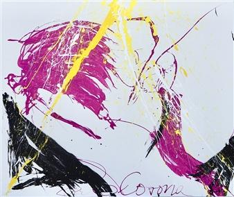 G Corona - Skylight Acrylic on Canvas, Paintings