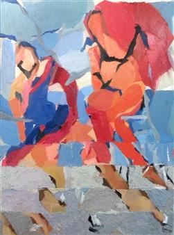 Cristina Prieto Crespi - Entre Dos Aguas Oil on Canvas, Paintings