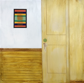 Arthur H. Gunther III - The Art Gallery Acrylic on Wood Panel, Paintings