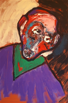 Philippe Thélin - Ecce Homo Acrylic on Canvas, Paintings