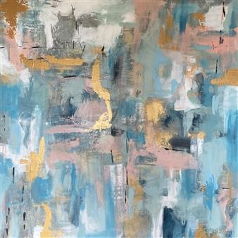 Kate Robinson - Be a Light Acrylic on Canvas, Paintings