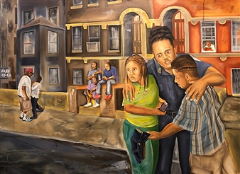 Herold Patrick Alexis - Image 18 Oil on Canvas, Paintings