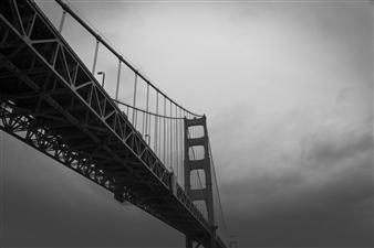 Mario De La Isla - Golden Gate Bridge 1 Photograph on Fine Art Paper, Photography