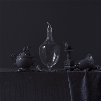 Art Golacki - Still Life in Wet with Marcel's Air de Paris / second variation Archival Pigment Print, Photography