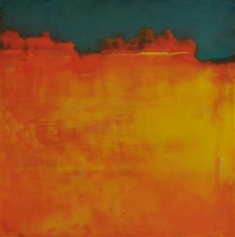 Pia Sjölin - Canyon Calling Acrylic on Paper, Paintings