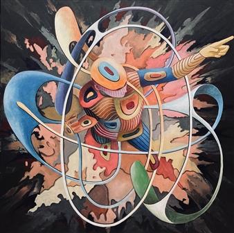 Don Kosta - Impulse Acrylic on Canvas, Paintings