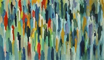 Joe Koury - Unbroken Bonds Acrylic on Canvas, Paintings