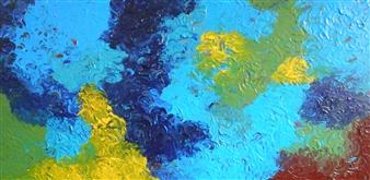 Carol Kavish - Obscure Acrylic on Canvas, Paintings
