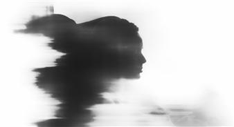 Danny Johananoff - Woman on Train Photograph on Plexiglass, Photography