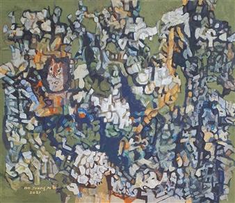 Soilart Jo-DoJoong - Knar Chipmunk Soil on Canvas, Paintings
