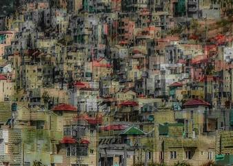 Shifra Levyathan - City Density 03 Digital C-Print, Photography